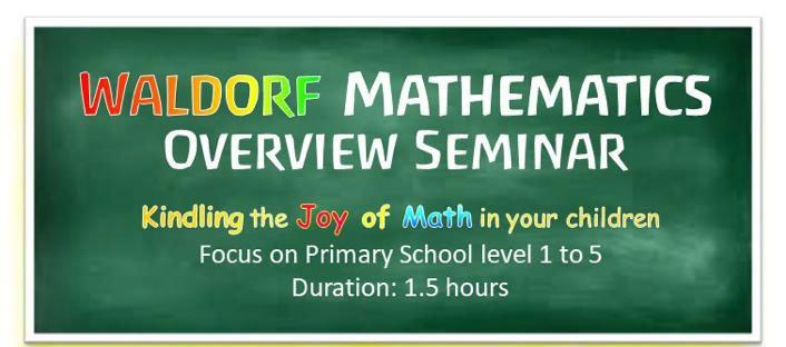 Waldorf-Mathematics-Overview-Seminar